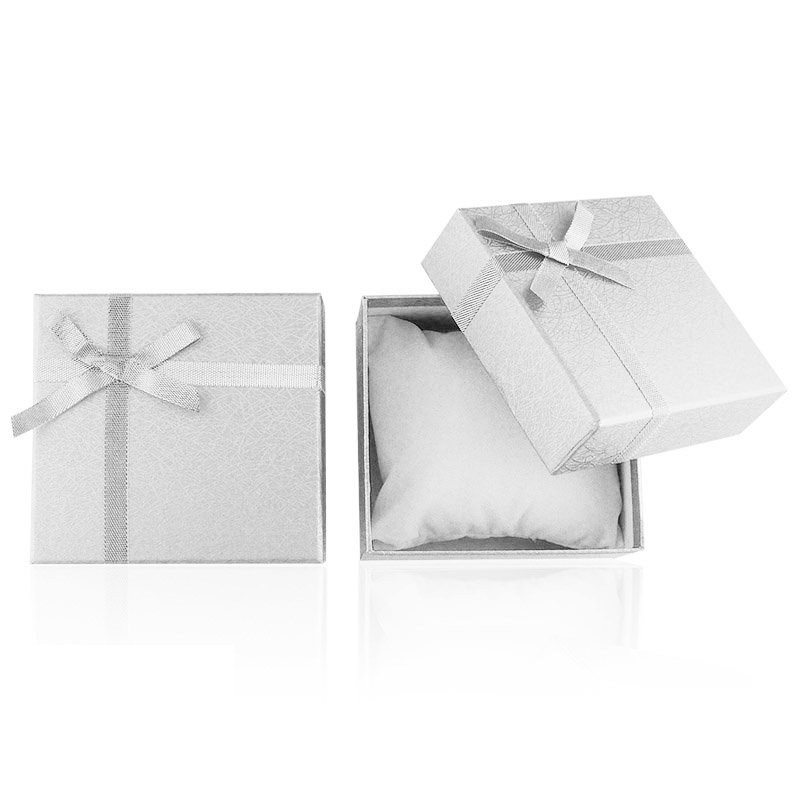 Zdjęcie produktu Pudełko srebrne na zegarek