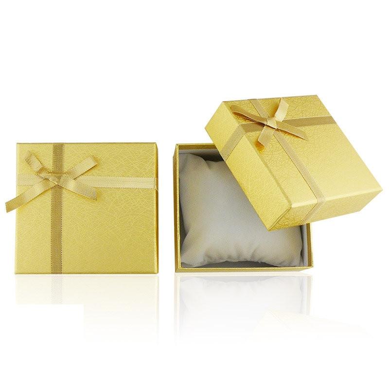 Zdjęcie produktu Pudełko złote na zegarek
