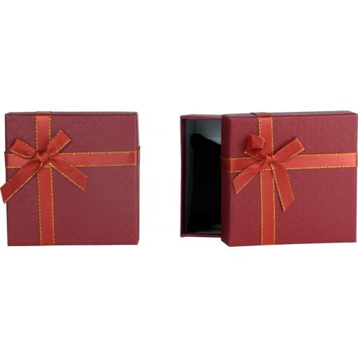 Zdjęcie produktu Pudełko na zegarek czerwone