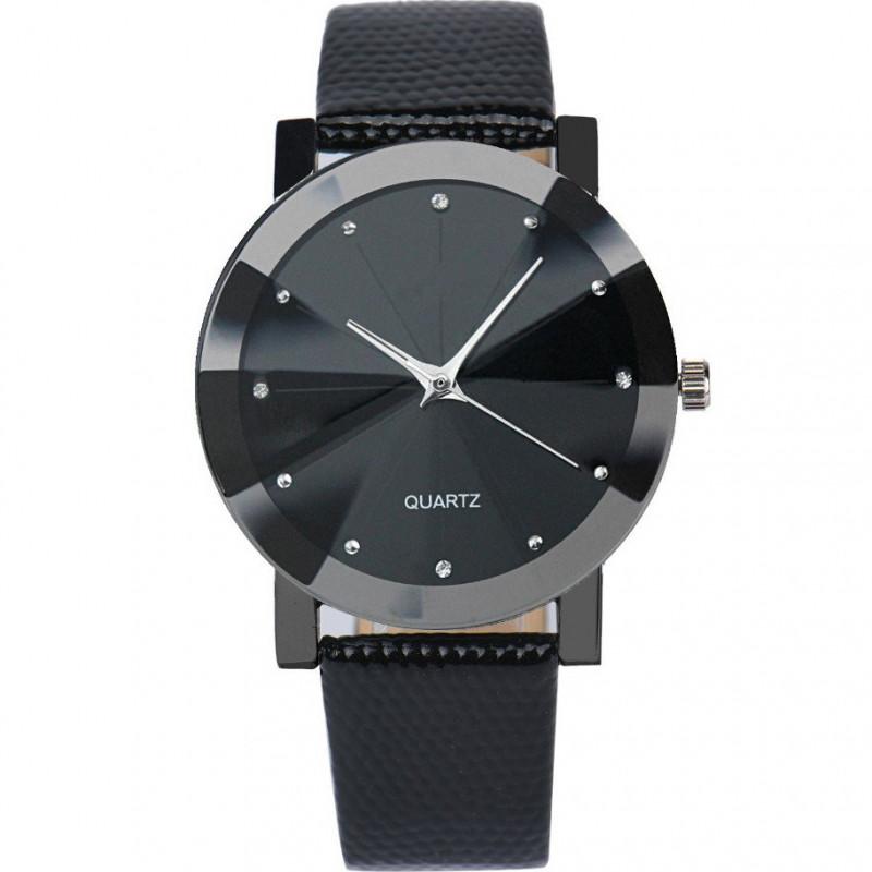 Zegarek skórzany Diamond