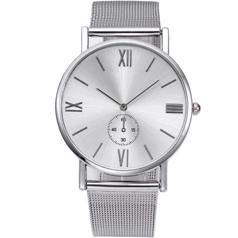 Zegarek mesh Vivace srebrny