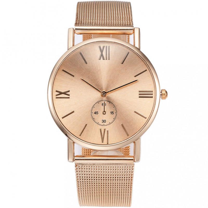 Zegarek mesh Vivace różowe złoto