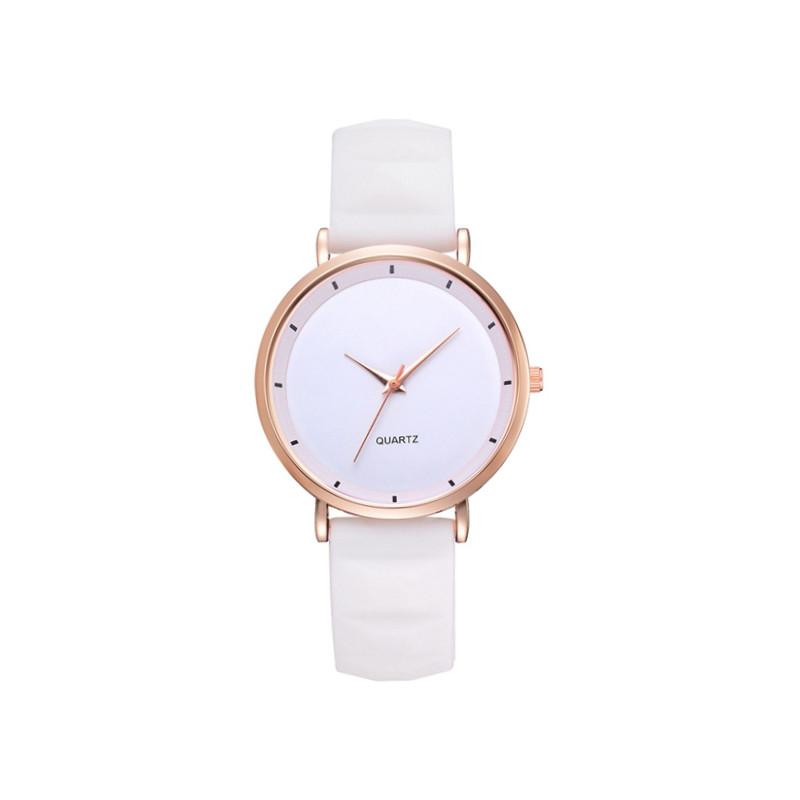 Zegarek silikonowy Jelly biały