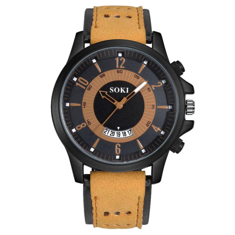 Zegarek skórzany Lerpa SOKI