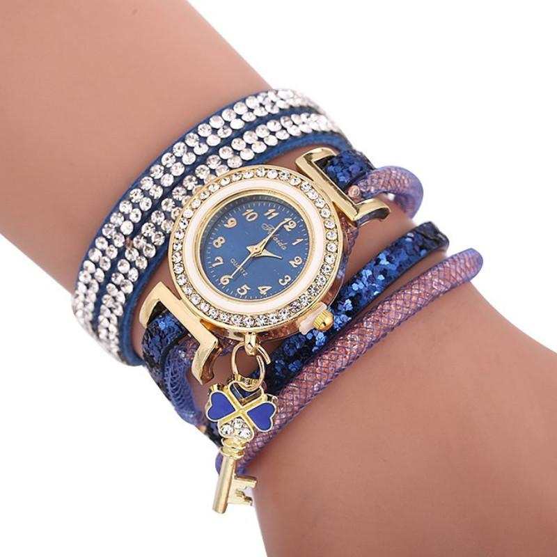 Zegarek bransoletka Metis niebieski z...