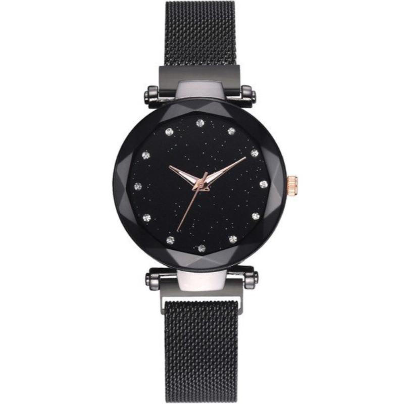 Zegarek mesh MAGNETIC czarny z...