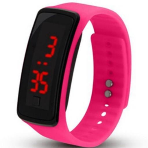Zegarek silikonowy LCD BAND...