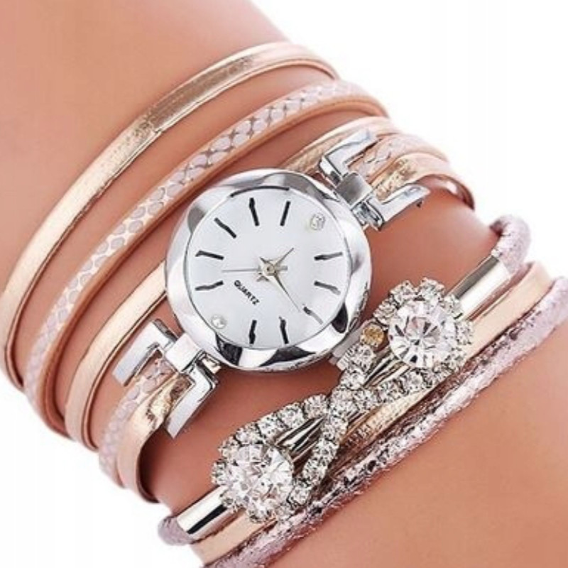 Zegarek bransoletka Juno oplatany...
