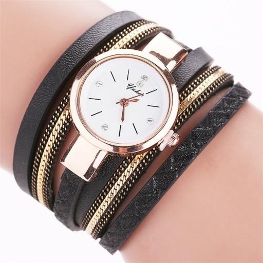 Zdjęcie produktu Zegarek złoty bransoletka owijany