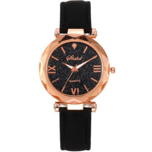 Zegarek skórzany Galactico black